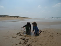 One of the great child friendly Beaches
