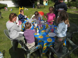 Pottery Painting courses at La Vendange Child Friendly Gites